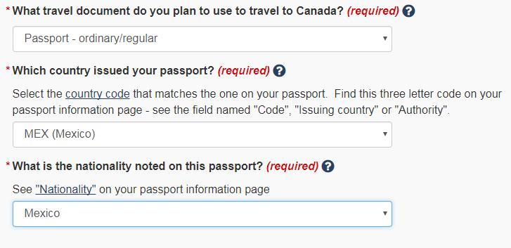 Trámite de eTA para viajar a Canadá