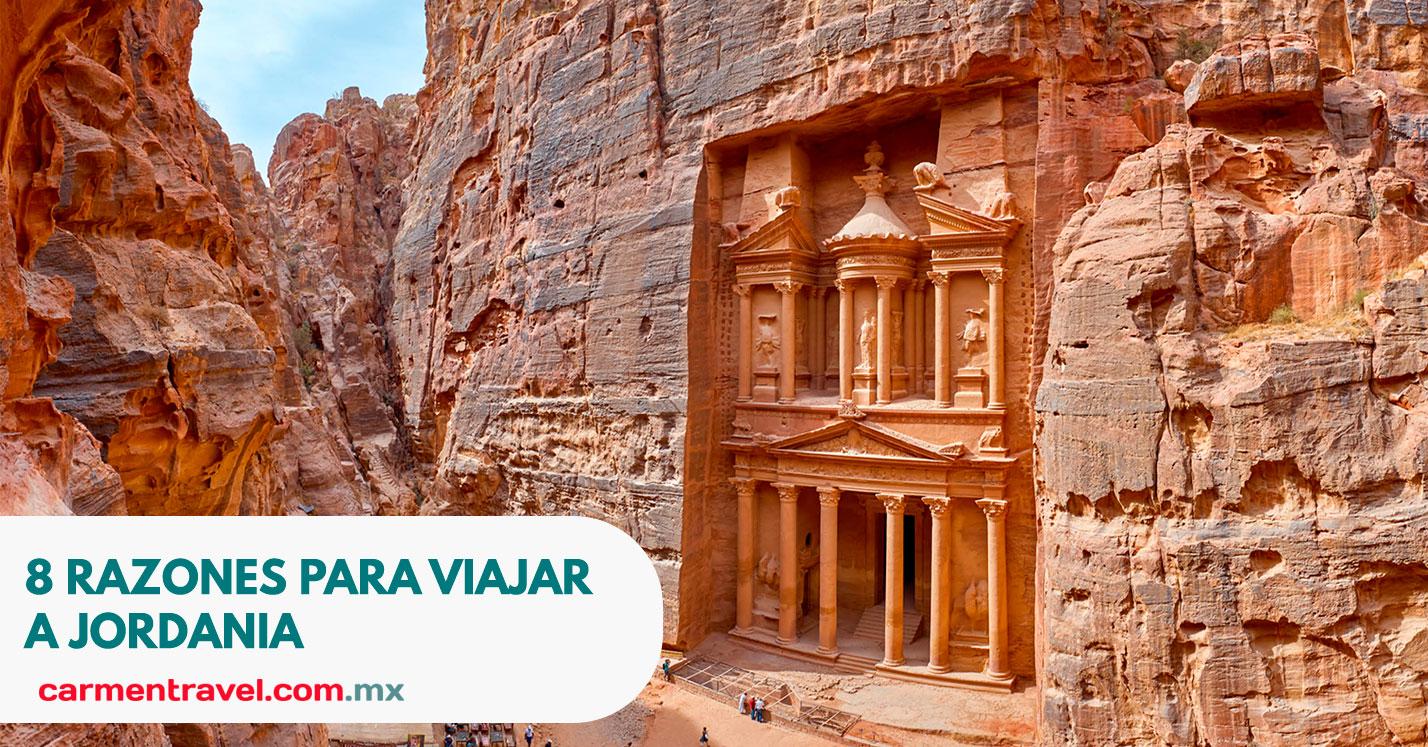 8 razones para viajar a Jordania